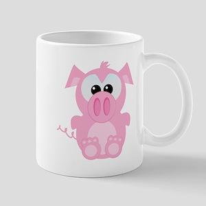 Goofkins Cute Little Piggy Mug