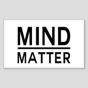 Mind Matter Sticker