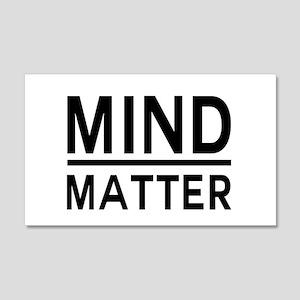 Mind Matter Wall Decal