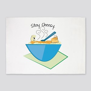 Stay Cheesy 5'x7'Area Rug