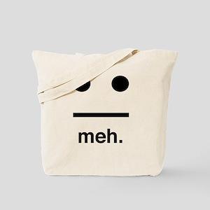 Meh face Tote Bag