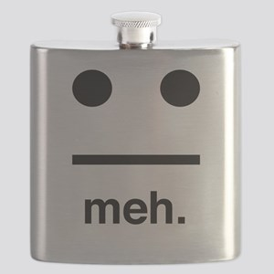 Meh face Flask