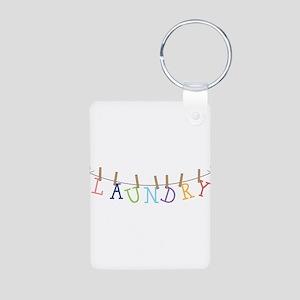 Laundry Hanging Keychains