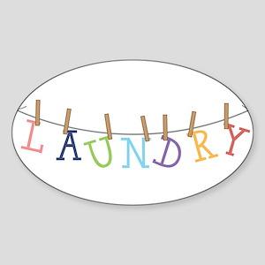Laundry Hanging Sticker