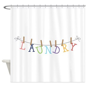 Laundry Shower Curtains