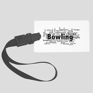 Bowling Luggage Tag