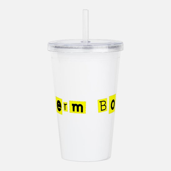 Hilariously Funny Germ Acrylic Double-Wall Tumbler