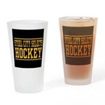 SCS Text Logo Drinking Glass