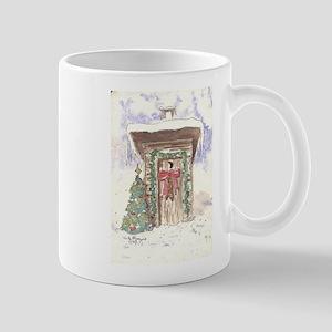 Christmas Bells Outhouse Mugs
