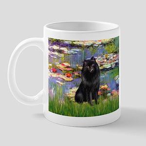 Lilies (2) & Schipperke Mug
