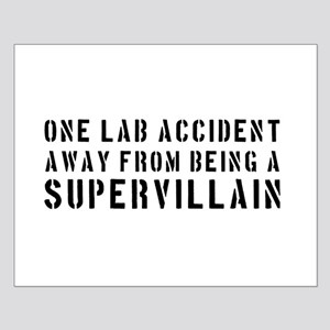 One lab accident supervillain Posters