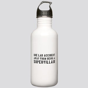 One lab accident supervillain Water Bottle