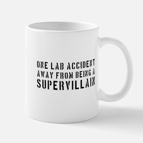 One lab accident supervillain Mugs