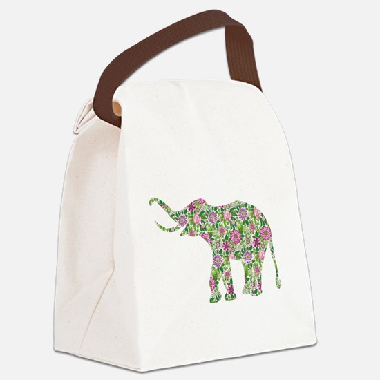 Funny Animals wild Canvas Lunch Bag