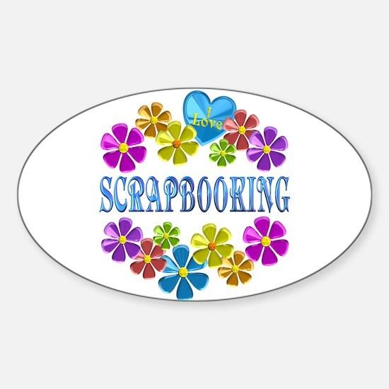 I Love Scrapbooking Decal
