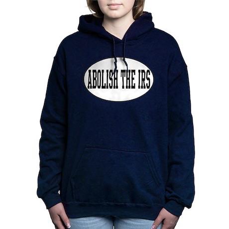 Abolish the IRS Women's Hooded Sweatshirt