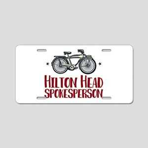 Hilton Head Bicycle Aluminum License Plate