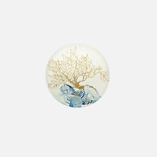 Cool Shell Mini Button