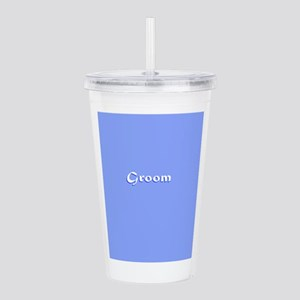 Groom Blue 234 Acrylic Double-Wall Tumbler