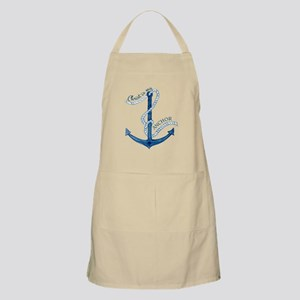 Jesus Christ is my Anchor Nautical Rope Apron
