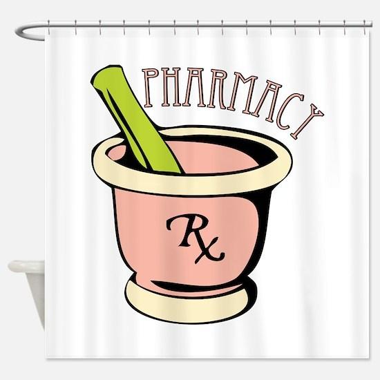 Pharmacy Rx Shower Curtain