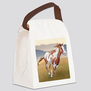 On The Run Canvas Lunch Bag