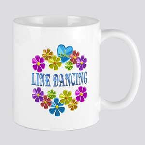 I Love Line Dancing Mugs