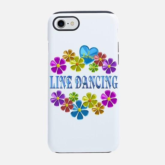 I Love Line Dancing iPhone 7 Tough Case