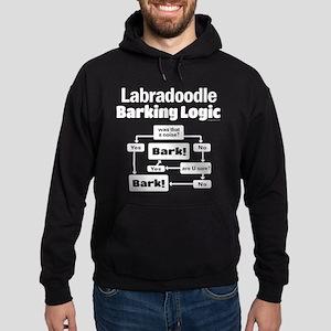 Labradoodle logic Hoodie (dark)