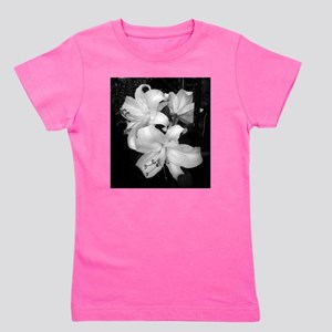 black and white lily, lily Girl's Tee