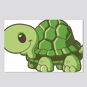 Baby Green Turtle-3 Postcards (Package of 8)