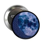 Celtic Knotwork Blue Moon Button