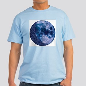 Celtic Knotwork Blue Moon Light T-Shirt