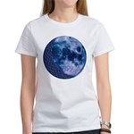 Celtic Knotwork Blue Moon Women's T-Shirt