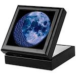 Celtic Knotwork Blue Moon Keepsake Box