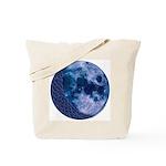 Celtic Knotwork Blue Moon Tote Bag