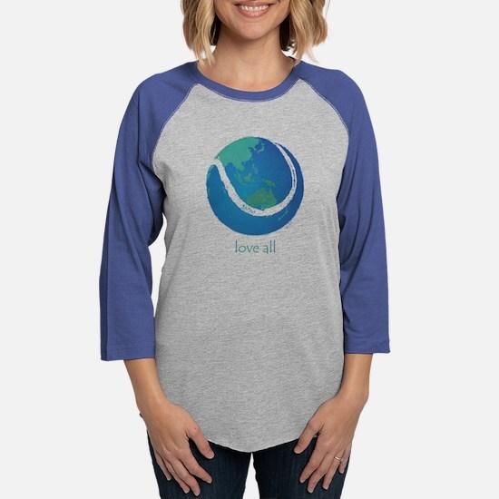 love all world tennis Long Sleeve T-Shirt