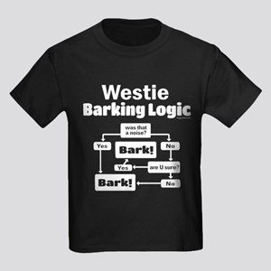 Westie Logic Kids Dark T-Shirt
