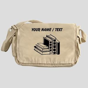 Custom Books Messenger Bag
