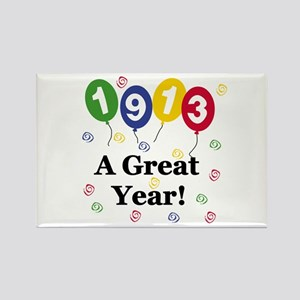 1913 A Great Year Rectangle Magnet