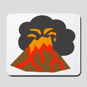Erupting Volcano Mousepad