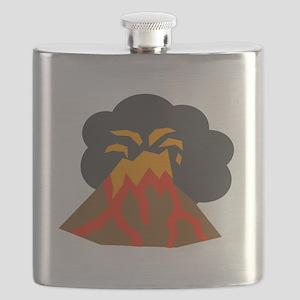 Erupting Volcano Flask