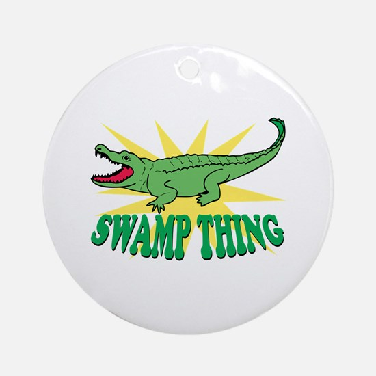 Swamp Thing Ornament (Round)