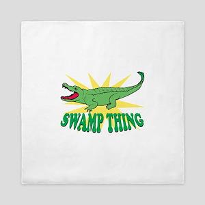 Swamp Thing Queen Duvet