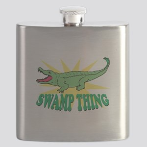 Swamp Thing Flask