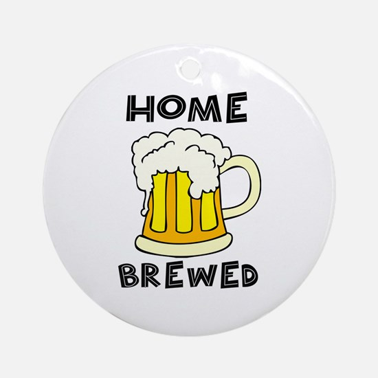 Home Brewed Ornament (Round)