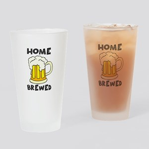Home Brewed Drinking Glass