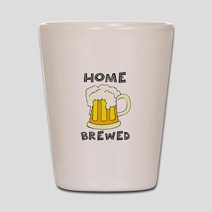 Home Brewed Shot Glass