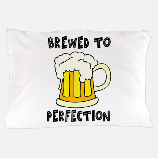 Brewed to Perfection Pillow Case