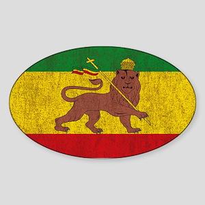 Rasta Flag Sticker